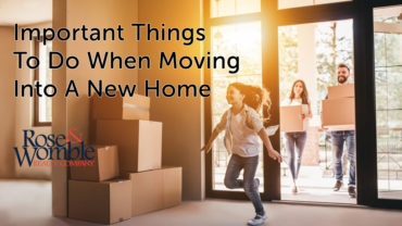 8 Important Things to Do When Moving into a New Home