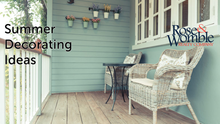 Decorating Ideas for Summer