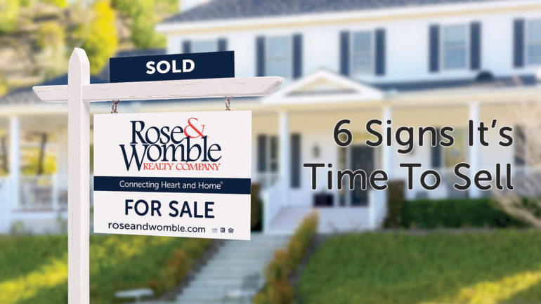 6 Signs It's Time to Sell